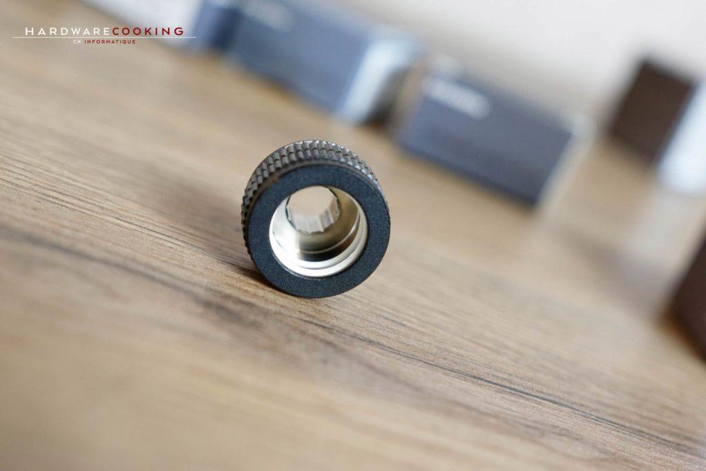 Embout Phanteks Glacier 16mm Hard Tube Fitting G1/4 - Black