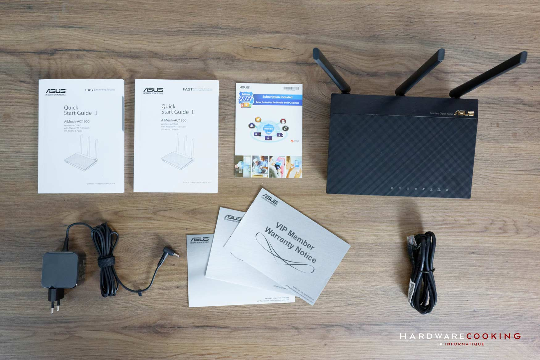 Test ASUS AiMesh AC1900 Wifi System bundle