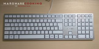 Test clavier CHERRY KC 6000 SLIM