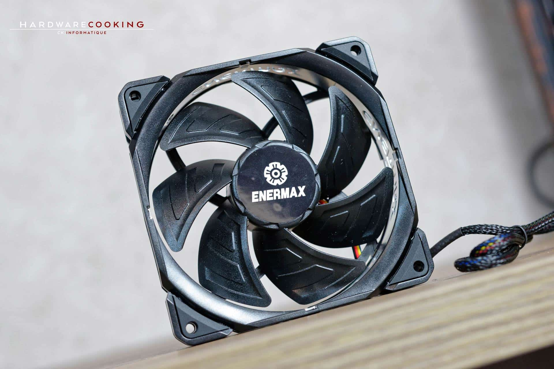 Test ventilateur Enermax T.B.Silence ADV 120mm