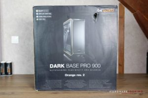 Test boîtier Be Quiet! Dark Base Pro 900 Rev. 2 Orange