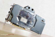 Test waterblock GPU Phanteks Glacier G1080 EVGA FTW