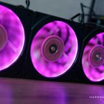 Test Phanteks Halos Digital RGB Fan frame, cadre RGB pour ventilateurs