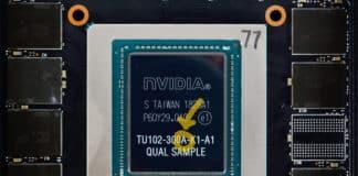 Puce nvidia turing TTU102-300A