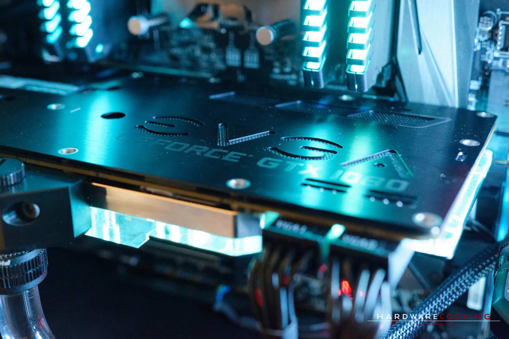 Rig du jour : Crustal Link par HardwareCooking : WB GPU Phanteks G1080 EVGA FTW