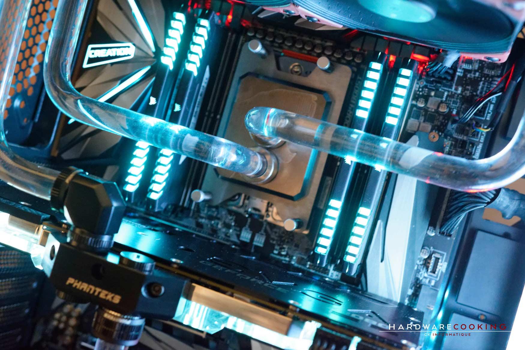 Rig du jour : Crustal Link par HardwareCooking : WB CPU hybrid Cooling Modding HCM PRO