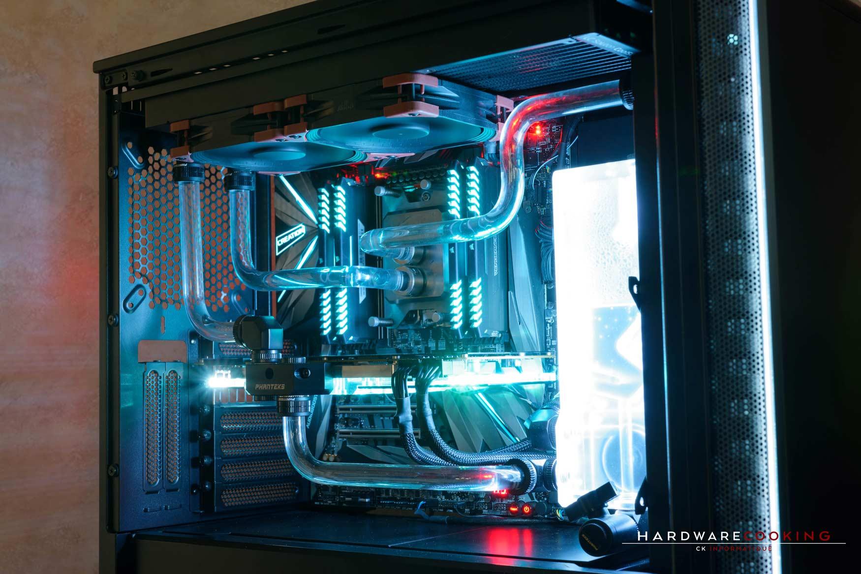 Rig du jour : Crustal Link par HardwareCooking : Be Quiet! Dark Base 700