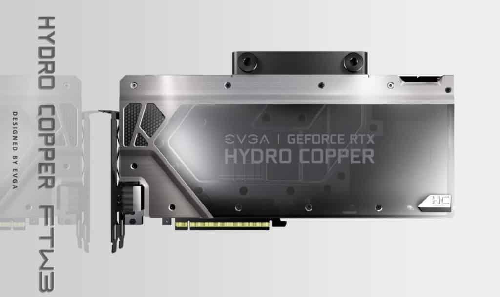 EVGA RTX 2080 Ti Hydro Cooper FTW3