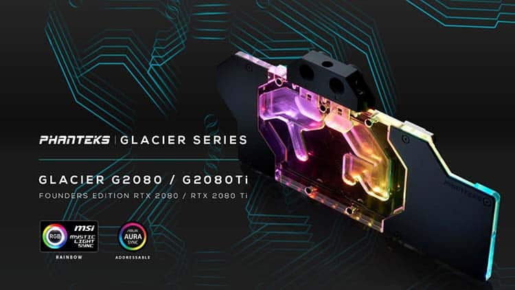 Waterblock GPU Phanteks Glacier G2080