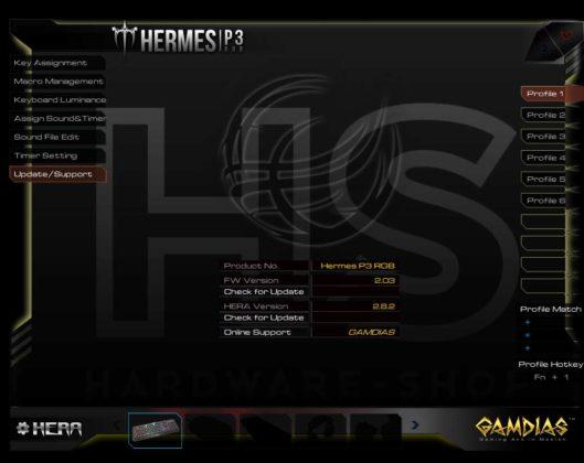 Test Gamdias Hermes P3 RGB