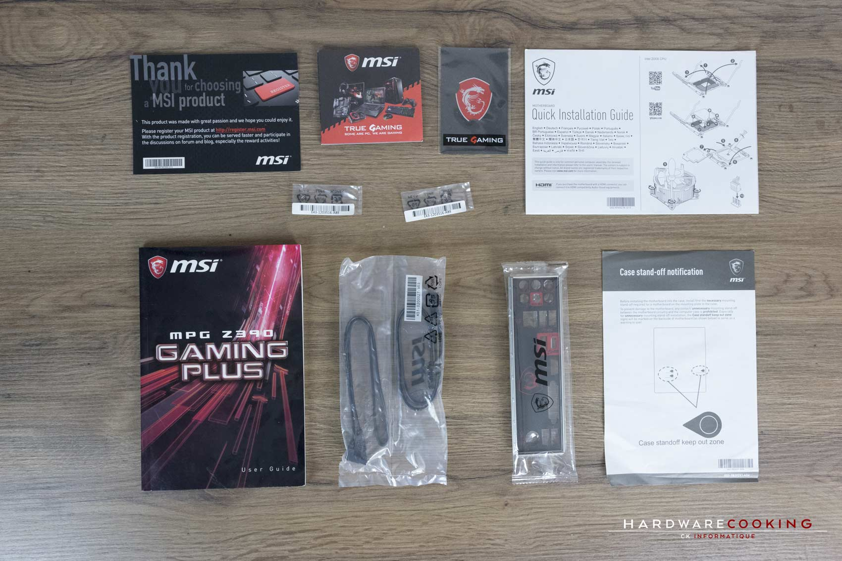 Test MSI MPG Z390 GAMING PLUS bundle