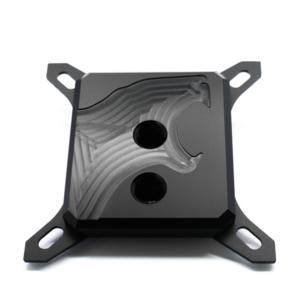 waterblock CPU Hybrid Cooling Modding HCM Black