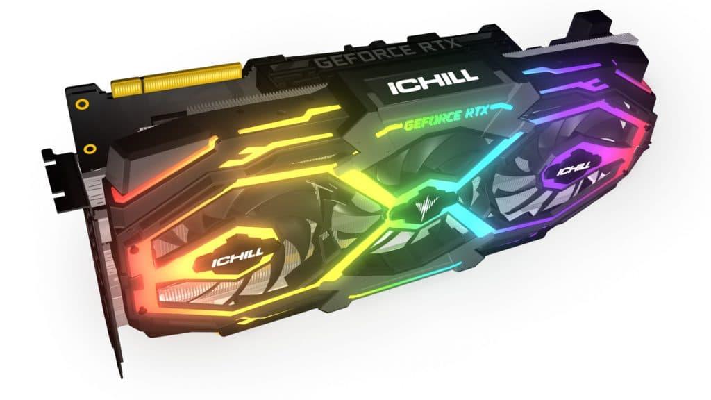 Inno 3D RTX iChill X3 vue de biais