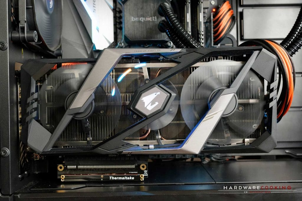 Test carte graphique AORUS RTX 2080 XTREME 8G