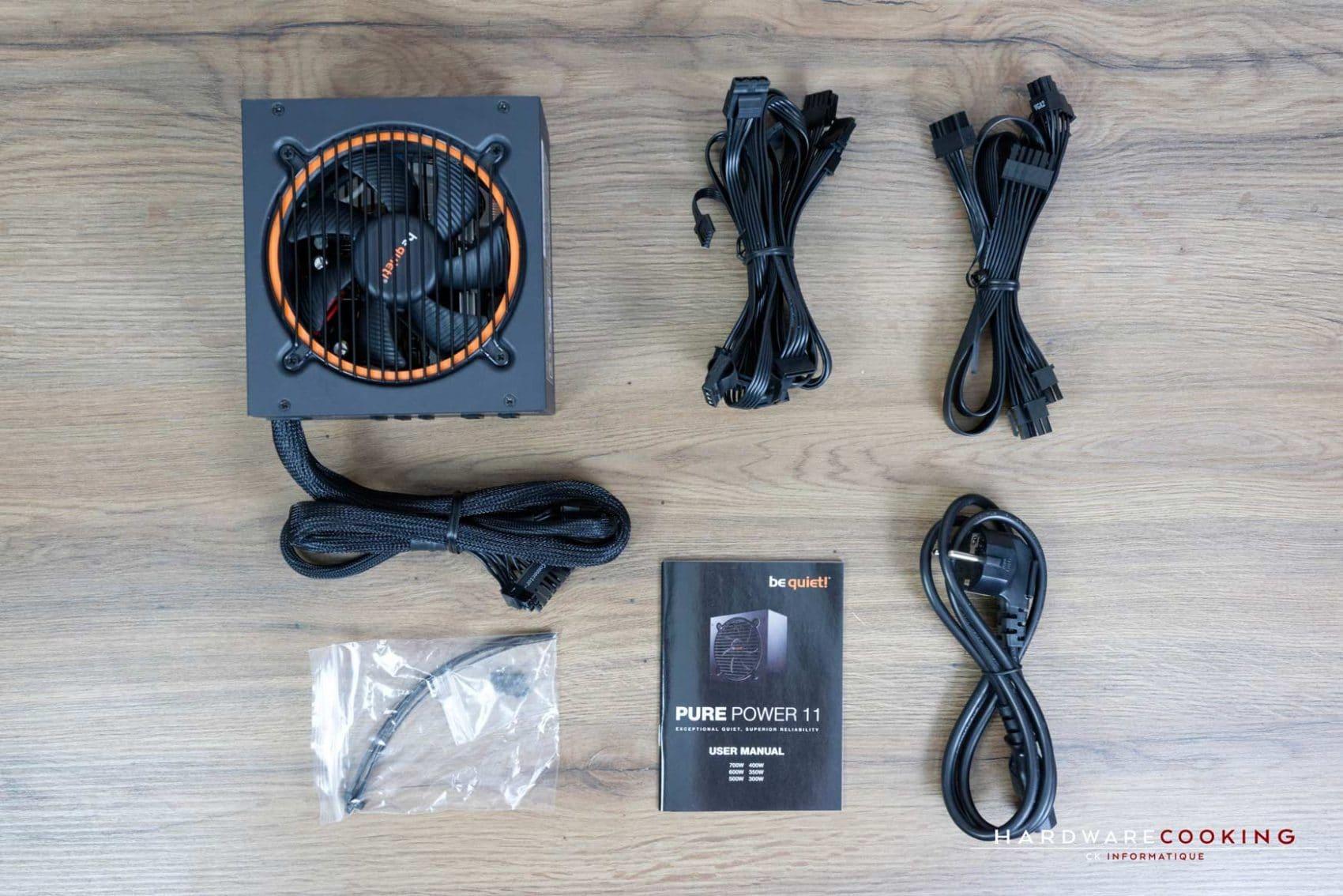 Test alimentation Be Quiet! Pure Power 11 700W CM