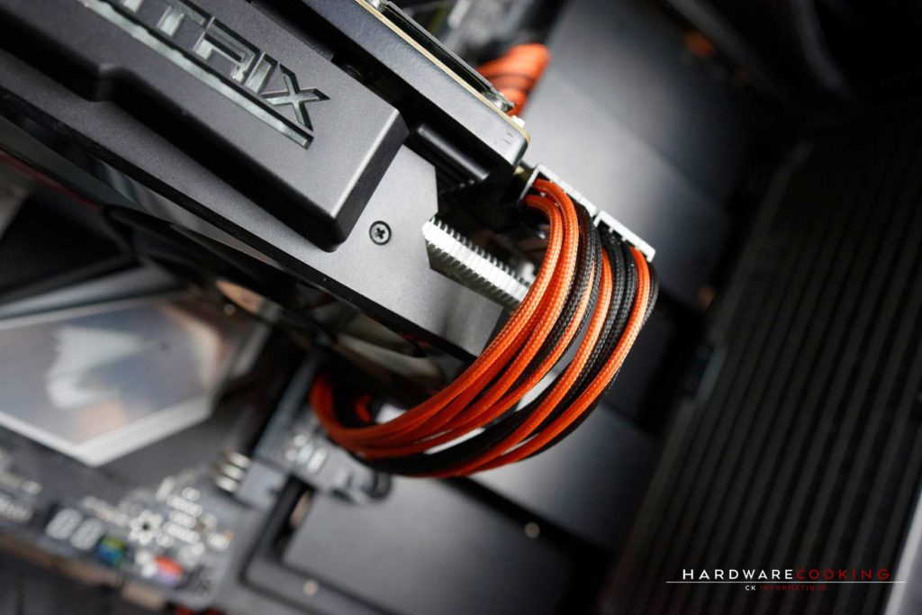 Kit cablemod noir orange pour alimentation Be Quiet! Straight Power 11