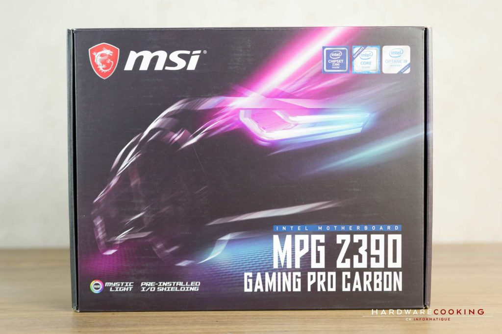 Test MSI MPG Z390 GAMING PRO CARBON
