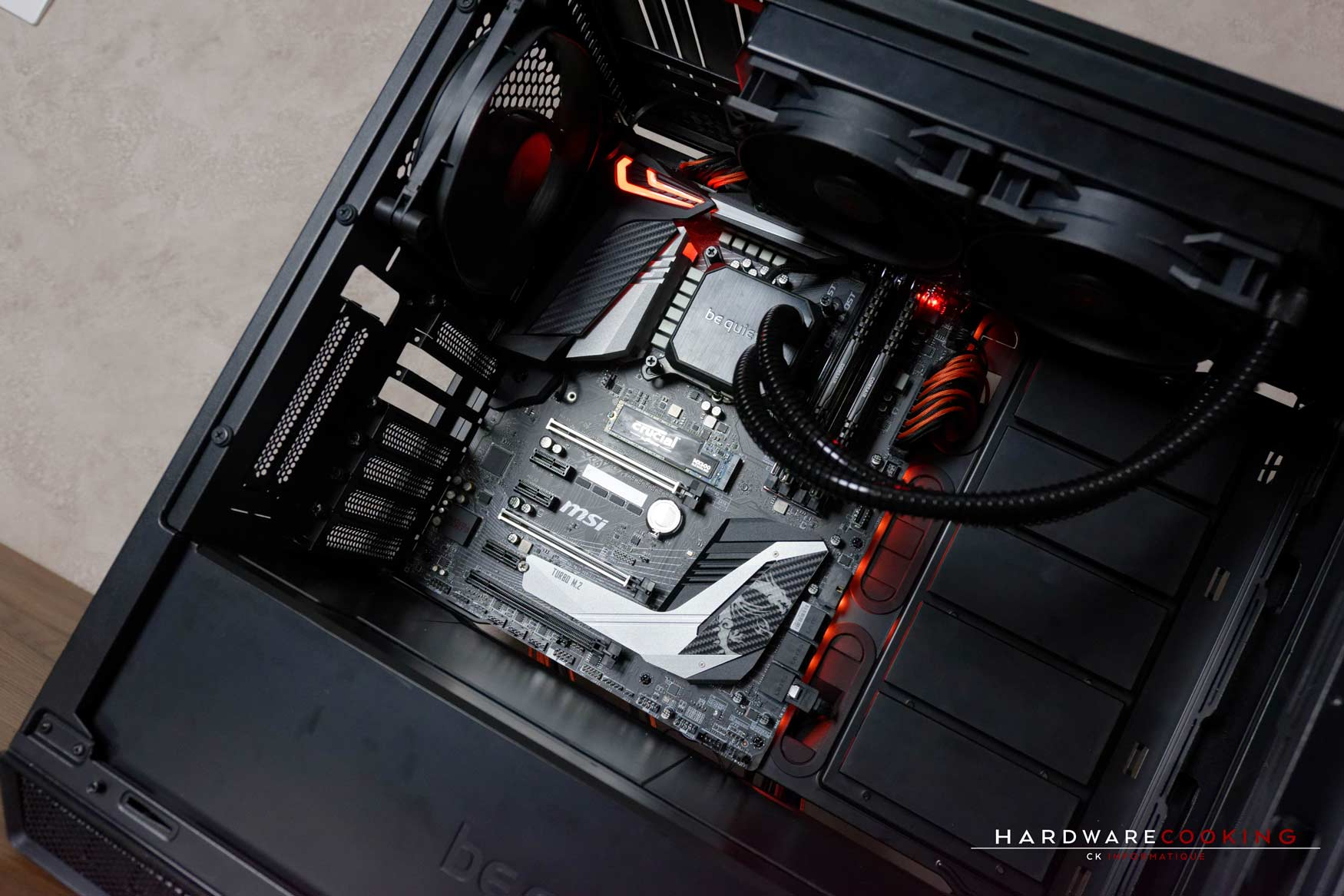 Test carte mère MSI MPG Z390 GAMING PRO CARBON