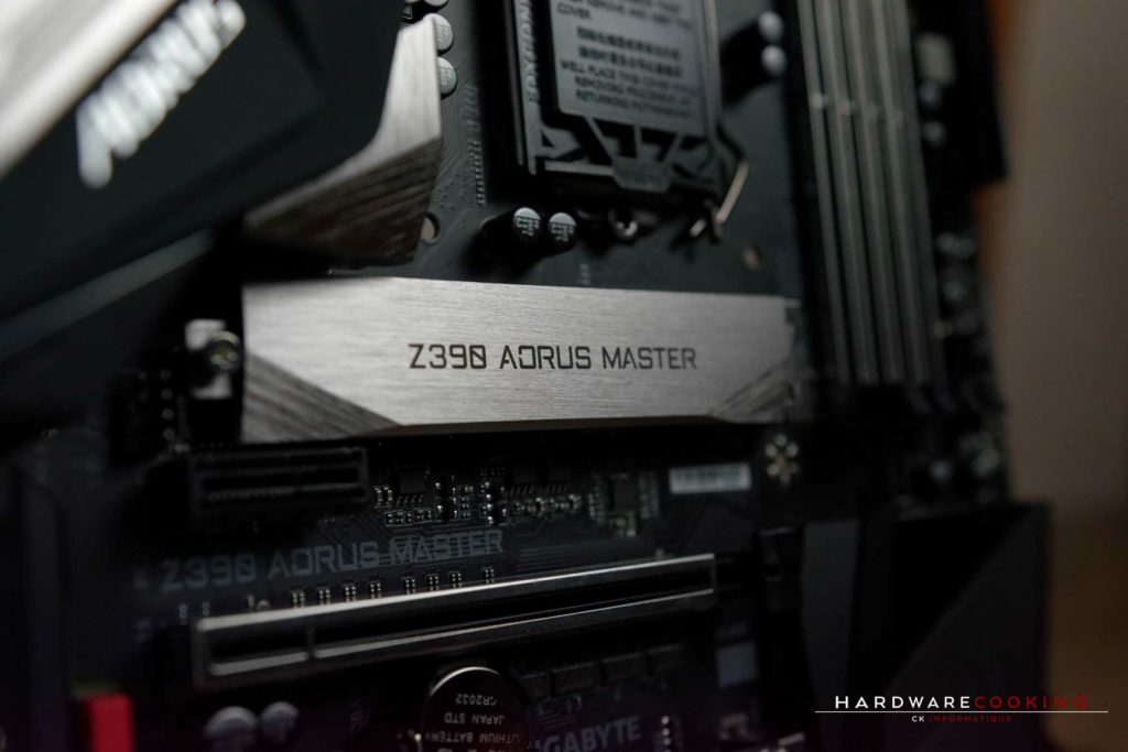 Test carte mère Z390 AORUS MASTER