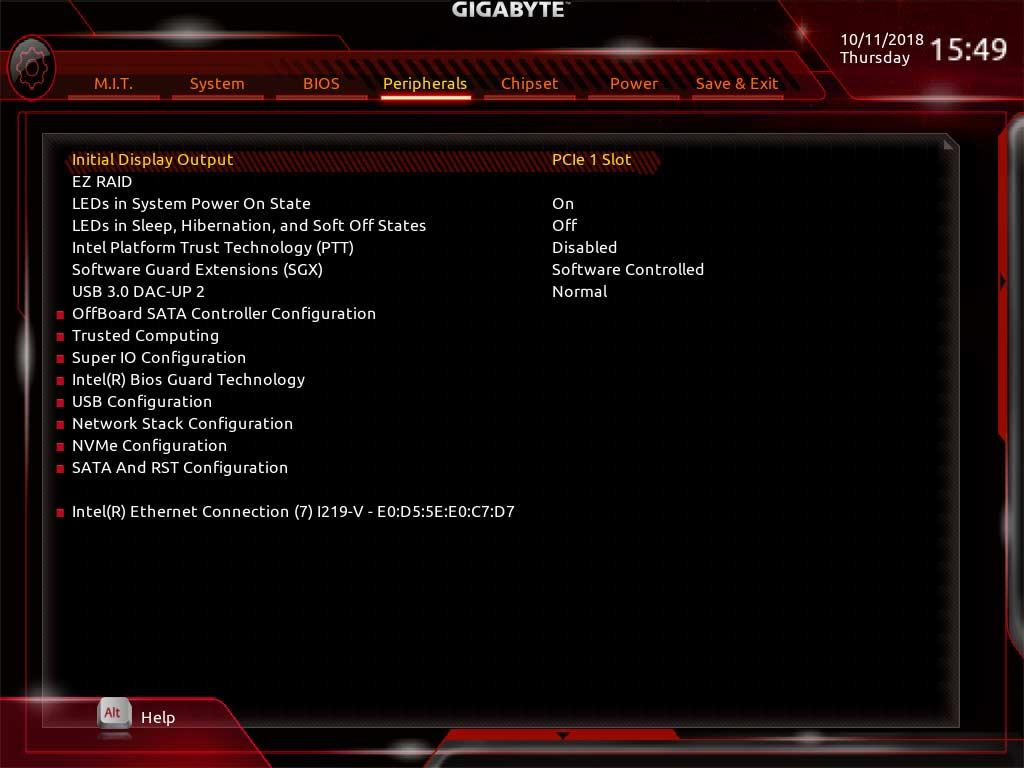 test   gigabyte z390 aorus master  que vaut-elle