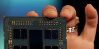 Processeur AMD avec architecture Zen 2 et 64 coeurs