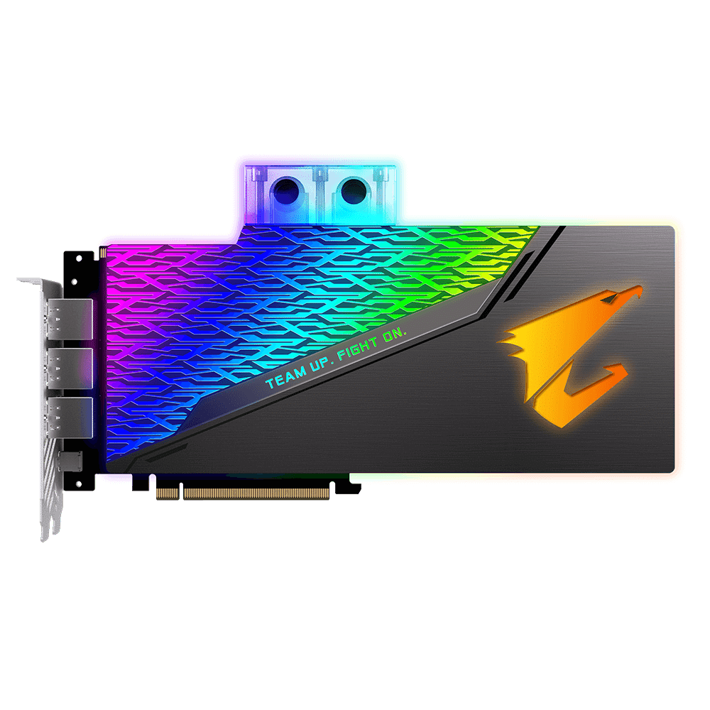 Carte graphique Aorus GeForce RTX 2080 Ti Xtreme Waterforce