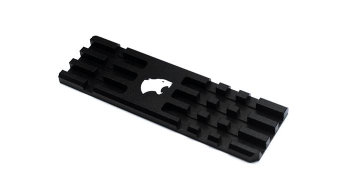 Hybrid Cooling vue du dissipateur Pro Evo X noir