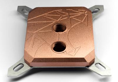 Hybrid Cooling waterblock avec top en full cuivre