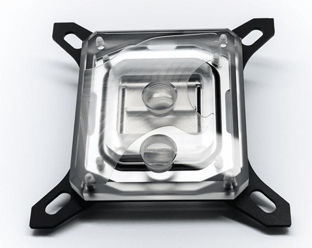 Hybrid Cooling waterblock avec top transparent
