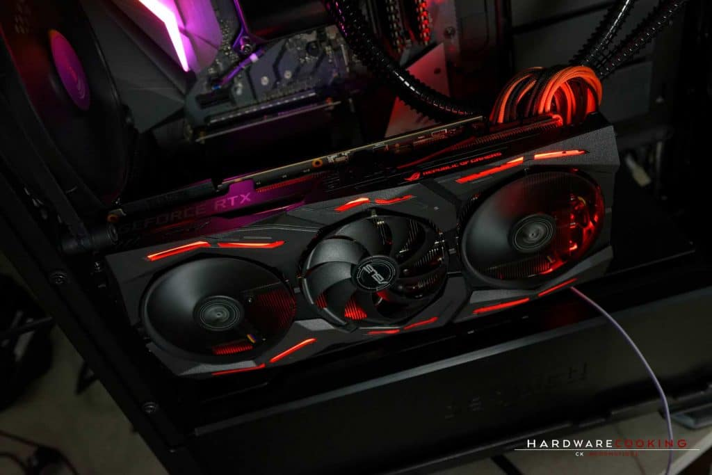 Test carte graphique ASUS ROG STRIX RTX 2080 O8G GAMING