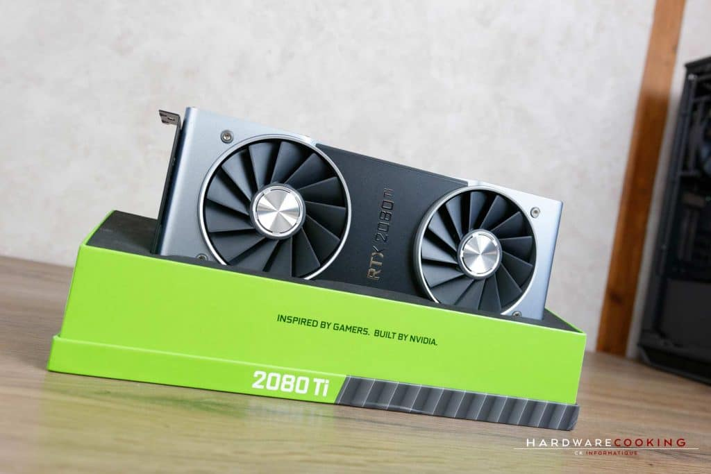 Test carte graphique Nvidia RTX 2080 Ti Founders
