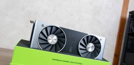 Test carte graphique Nvidia RTX 2080 Ti Founders