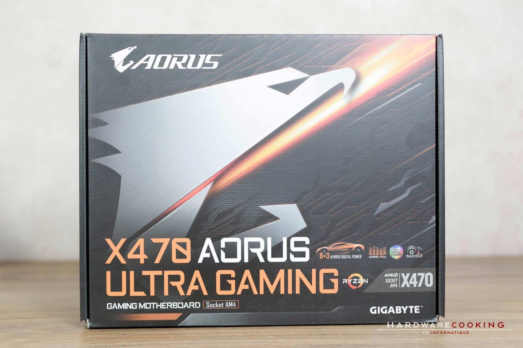 Test : X470 AORUS ULTRA GAMING - HardwareCooking
