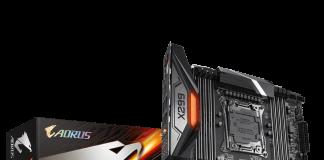 X299 AORUS Master vue du packaging
