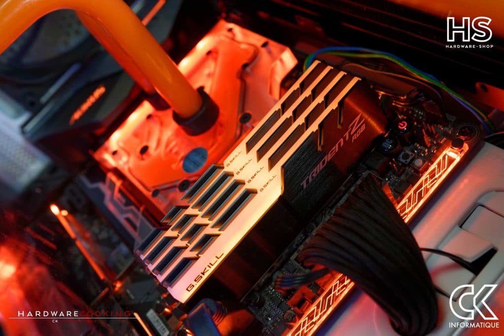 Build client watercooling custom par CK Informatique HardwareCooking et Hardware-shop.fr