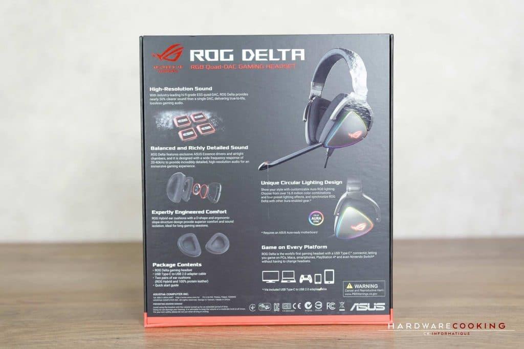 Test casque ASUS ROG Delta