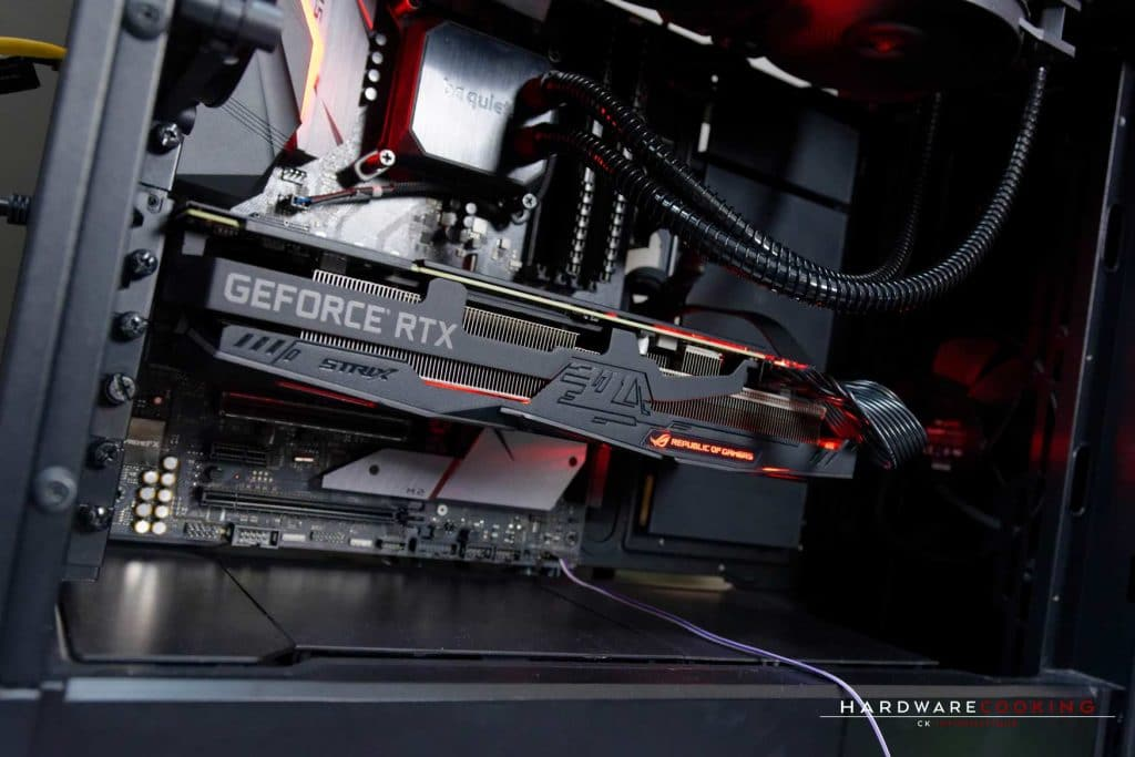 Test carte graphique ASUS ROG STRIX RTX 2080 Ti O11G GAMING