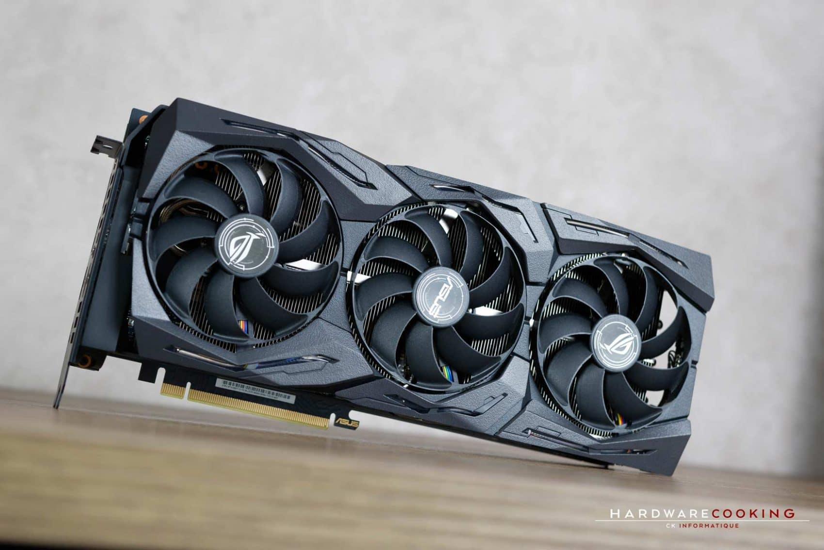 Test : ASUS ROG STRIX RTX 2080 Ti O11G GAMING - HardwareCooking