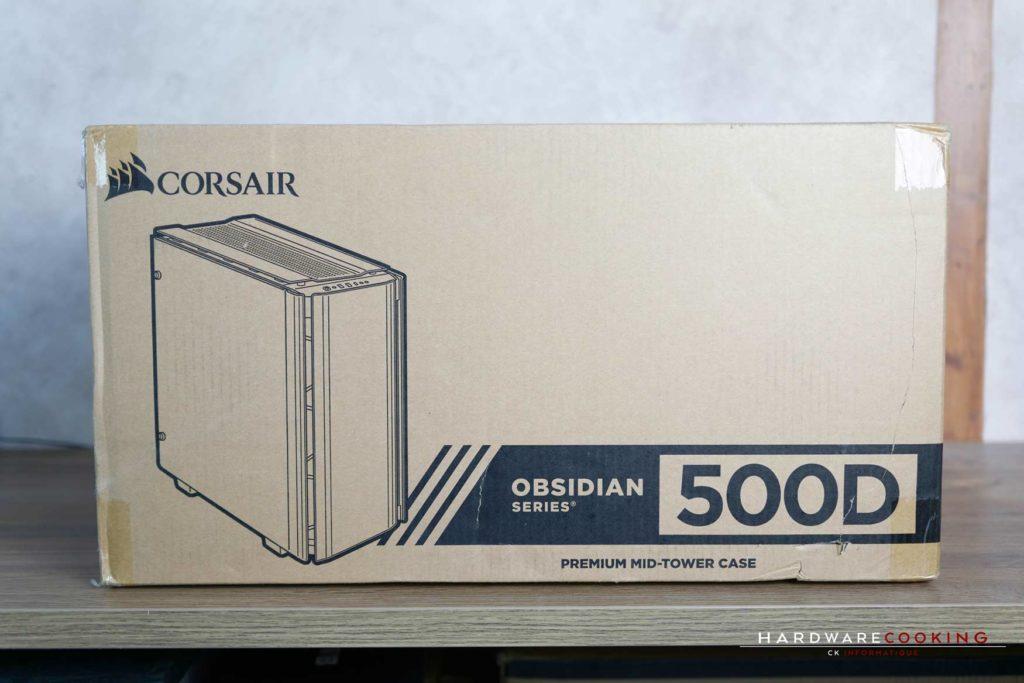 Test boîtier Corsair Obsidian 500D