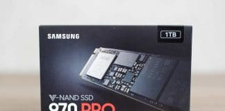 Test SSD Samsung 970 Pro 1 To