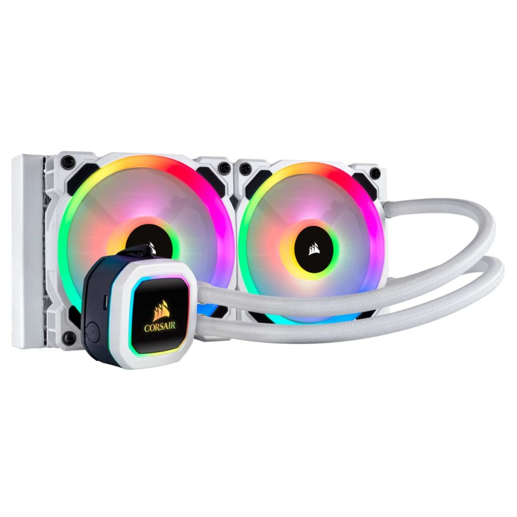 Watercooling AIO Corsair H100i RGB PLATINUM SE White edition