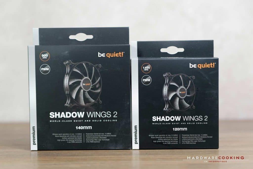 Test ventilateur Be Quiet! Shadow Wings 2