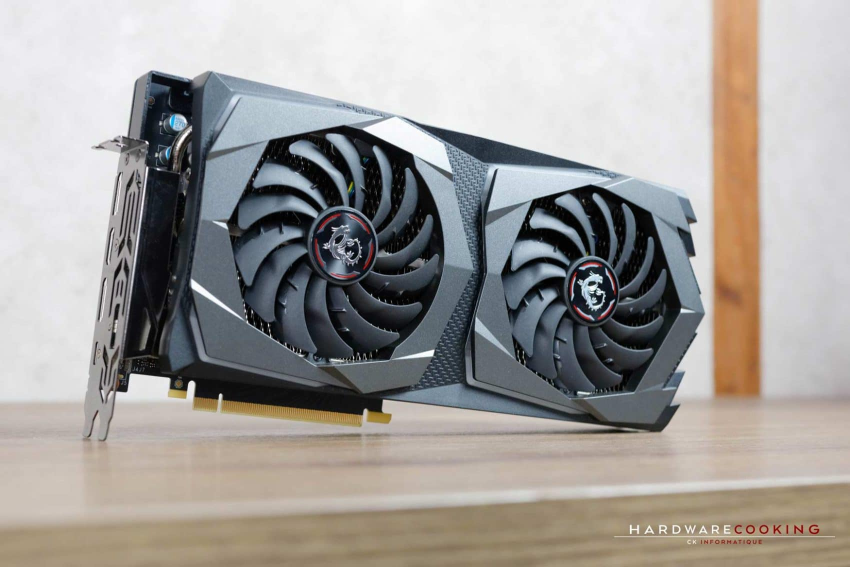 Test carte graphique MSI RTX 2070 GAMING Z 8G