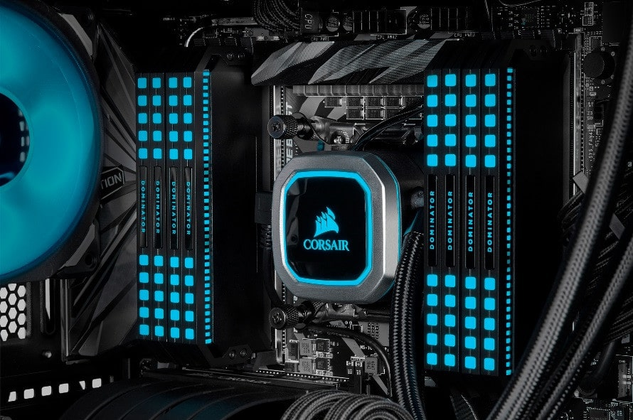 Mémoire Corsair Dominator Platinum RGB DDR4 LED Cappelix
