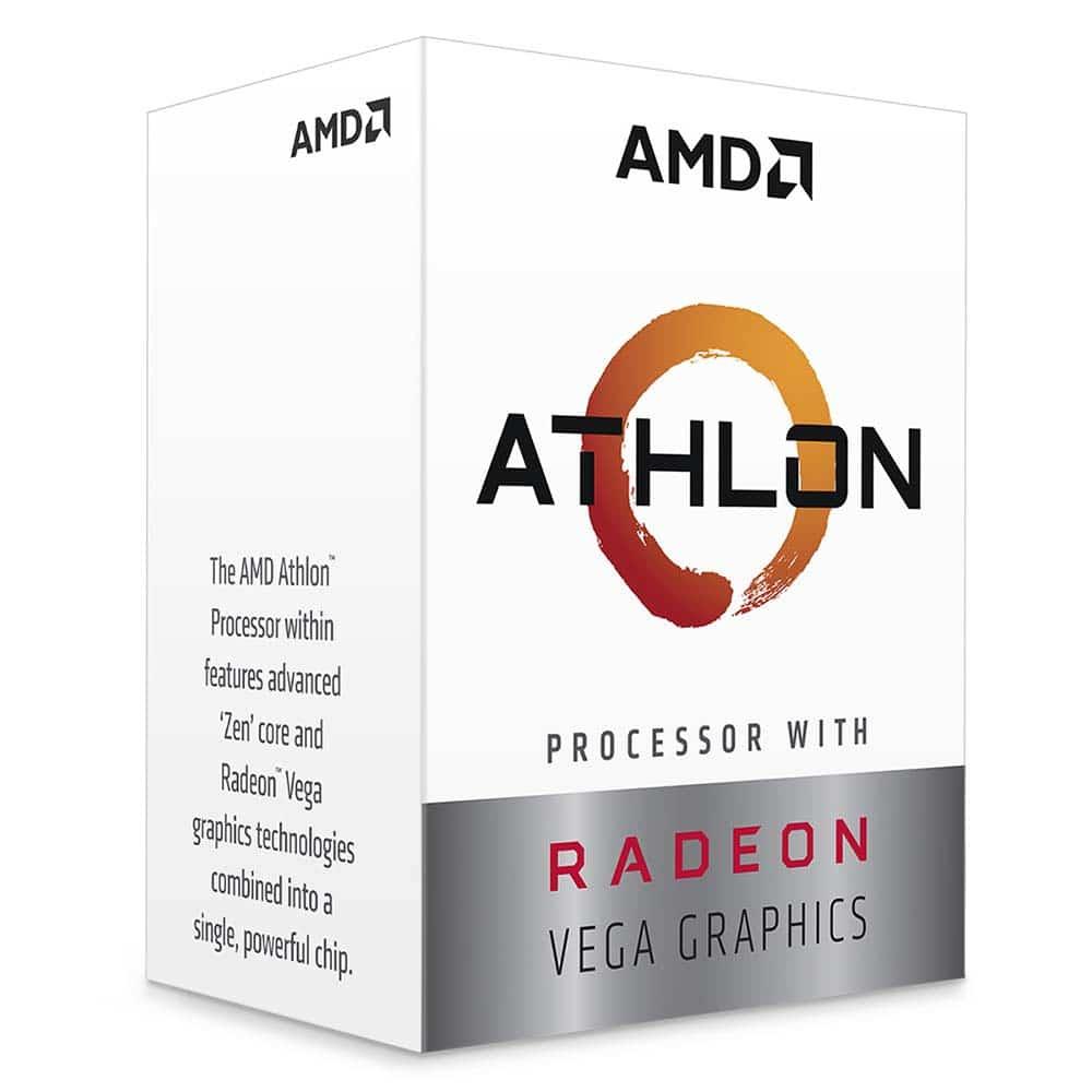pour un usage bureautique : processeur AMD Athlon 220GE