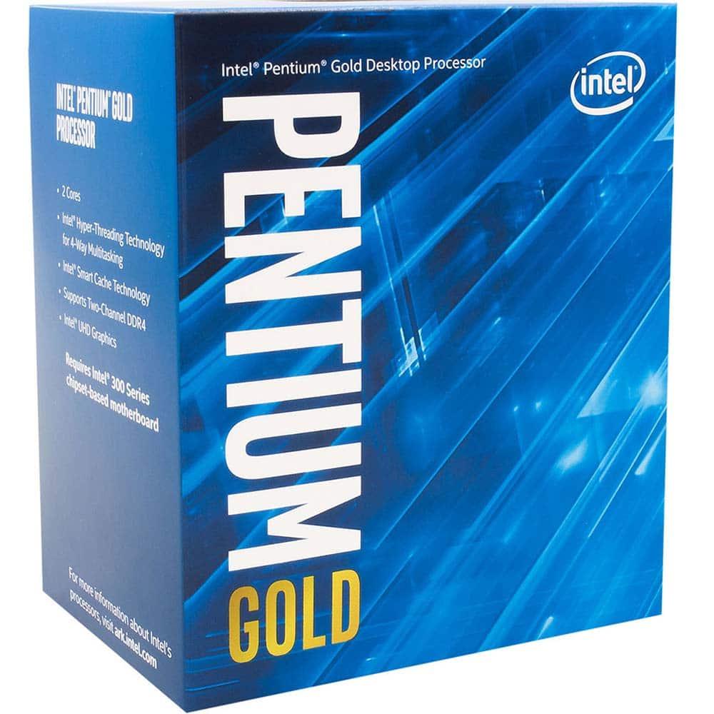 processeur Intel Pentium Gold