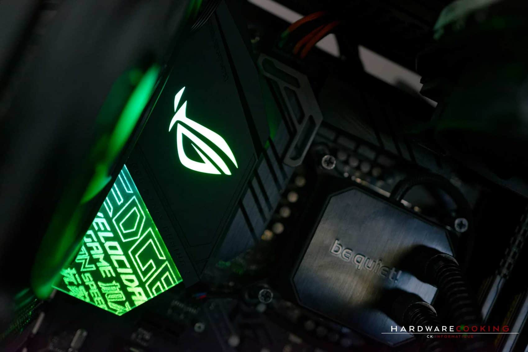 Test carte mère ASUS ROG STRIX Z390-E GAMING