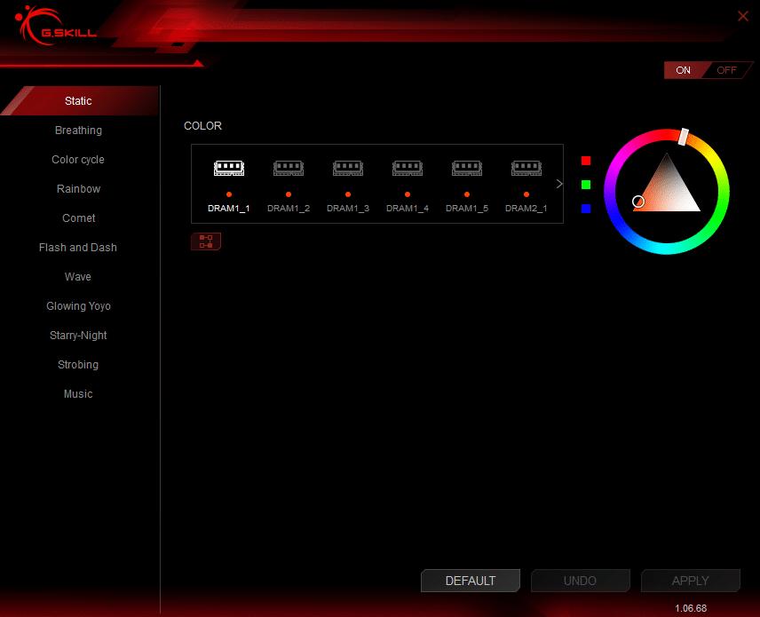 test   g skill trident z rgb 2 x 16 go 3000 mhz cas 14