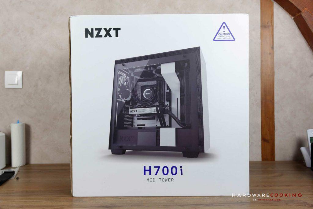 Test boîtier NZXT H700i