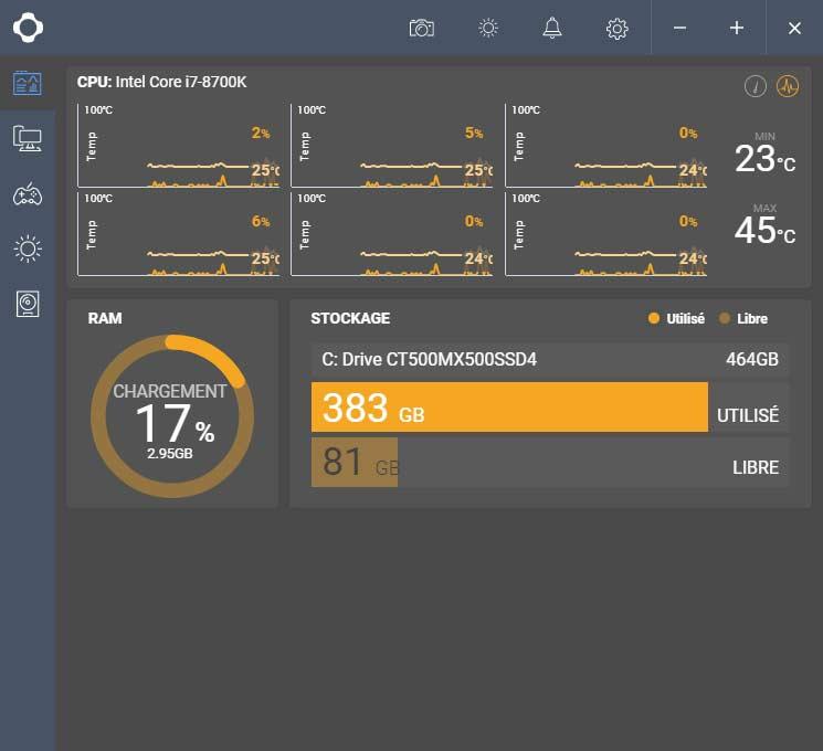 Test AiO NZXT Kraken M22 logiciel CAM